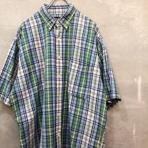 半袖チェックシャツ #1716