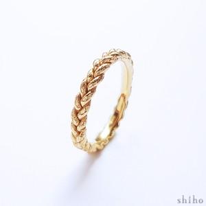 みつあみのリング【mitsuami ring(S)】