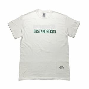 【TANGTANG × DUSTANDROCKS 】ロゴTシャツ T-SHIRT ダークグリーン
