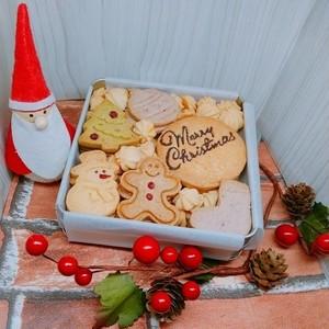 クリスマスクッキー缶(大)※ラッピングあり