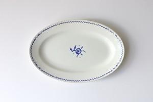 vintage ARABIA oval plate  /  ヴィンテージ アラビア オーバルプレート