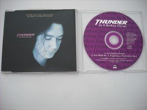 【CD single】THUNDER / IN A BROKEN DREAM (3track)