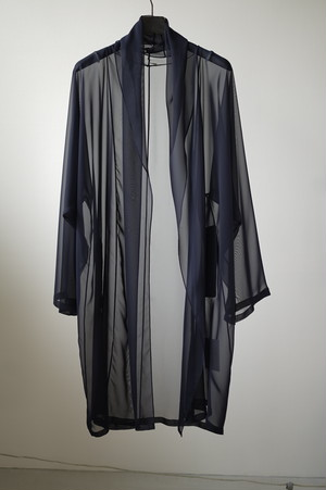 VINTAGE HERMES - Sheer Robe