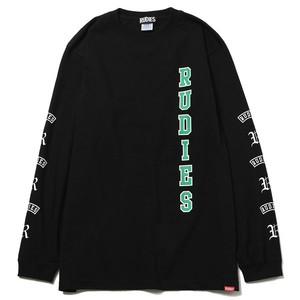 "RUDIE'S / ルーディーズ | "" MIGHTY "" LS-Tee _ Black"