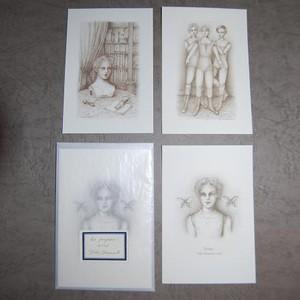 カードセット<Les Poupées>人形たち