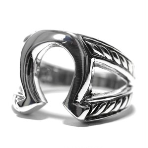 Vintage Sterling Silver Mexican Horse Shoe Ring
