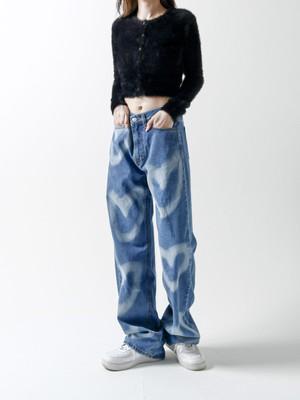 【UNISEX - 4 Size】HEARTPRINT BOY DENIM / Blue