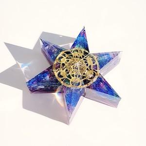 星形☆六芒星メタトロンのオルゴナイト