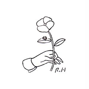 花とてんとう虫 Flower and a ladybug