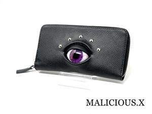eye wallet / violet