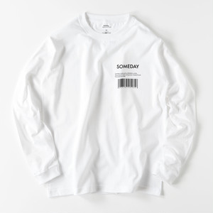"""BARCODE"" L/S tee"