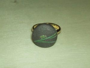 【コラボ】「カワグチツボ」柄の指輪