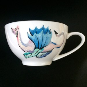 BIG COFFEE CUP「DRACO」(Pink x blue)
