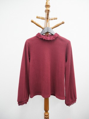 corduroy tops (bordeaux)