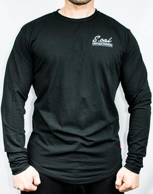 Scalロゴ入りロングスリーブ - ブラック (Scal Clothing)