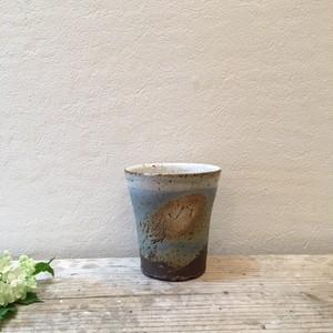 陶処風 山本直毅 2色線紋 ビアカップ1