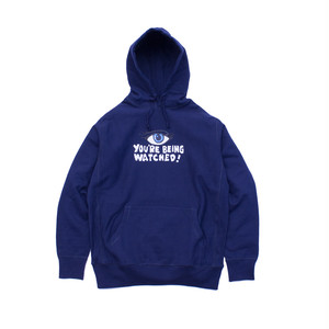 WATCH OUT PULLOVER HOODIE (NAVY)