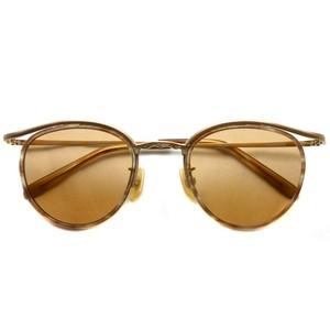 BOSTON CLUB ボストンクラブ / BARTH Sun / 03 Brown - Brown Lenses ゴールド-ライトトータス-ライトブラウンレンズサングラス