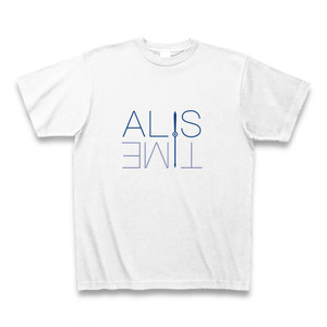 ALIS TIME Tシャツ(青色)