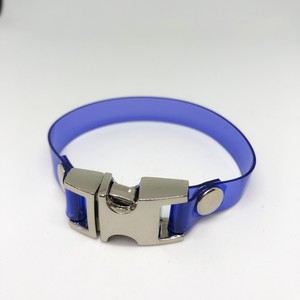PVC BRACELET / BLUE