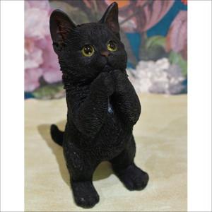 クロネコオブジェ  A type   猫 置物 ネコ雑貨/浜松雑貨屋C0pernicus