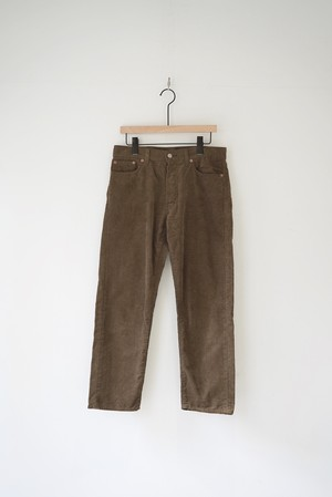【ORDINARY FITS】ANKLE CORDUROY PANTS/OF-P092