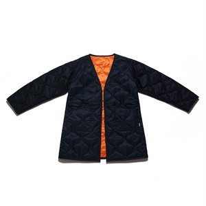 QUILTING COAT - BLACK