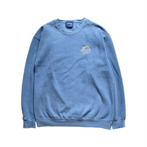 GIVE ME WAVES CREW SWEAT blue gray