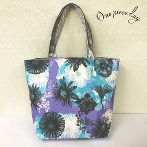"tote bag  ""bouquet."""