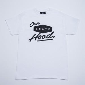 Crate Hood T-shirt - White -
