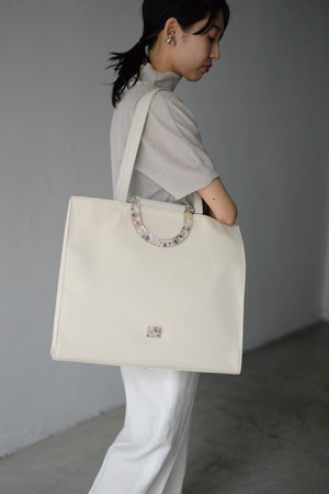 ANEVER / BIG CANVAS TOTE (2color)