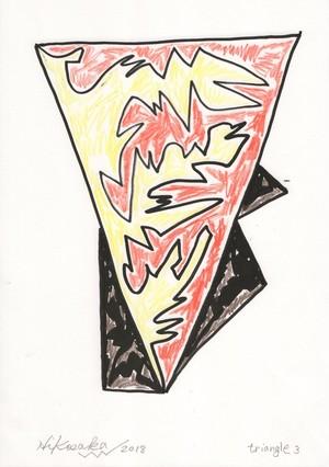 彦坂尚嘉『triangle3』
