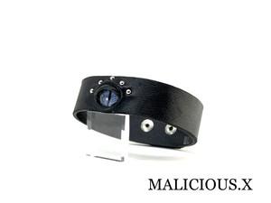 reptelis(D) belt choker(2snap)/ gray