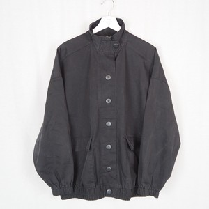 Big Silhouette Stand-collar  Jacket