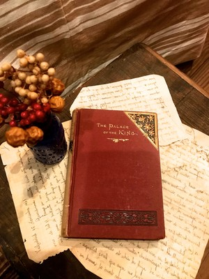 antique book / THE PALACE OF THE KING(レターパックOK)