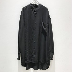 【ラスト2枚】keisukeyoneda half pleats flap shirt