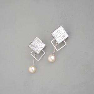 pierced earrings C-P20/earrings C-E20<silver>
