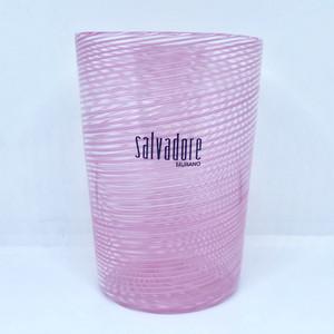 Item056  【再入荷】ヴェネチアングラス フィリグラーナグラス ロング ピンク