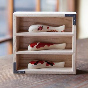 KOIOKI 3折 in 特製桐箱|色漆錦鯉3種セット【予約受付中/受注販売】