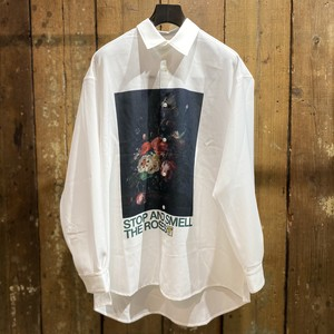Children of the discordance / OIL PAINTING PRINT SHIRT C / FLOWER