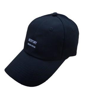 KEEP DRY ローキャップ [MKH-017 BLACK]