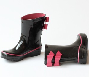 Double Bow Rain Boot(Girl)