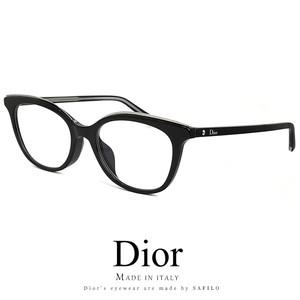 Dior レディース メガネ montaigne49f-807 眼鏡 アジアンフィット ディオール Christian Dior クリスチャンディオール キャットアイ ウェリントン型