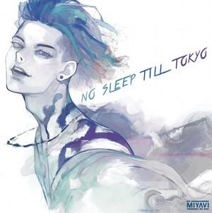 【NO SLEEP TILL TOKYO】キャンバスアート