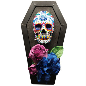 SKULLFRAME Tooth pick holder - Mexican Skull (Neon)