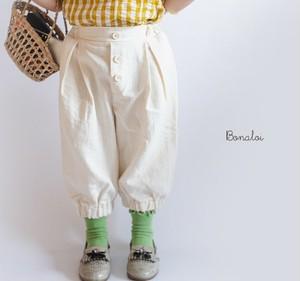 bonaloi/pin tuck pants
