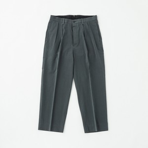 phlannel  / French Twill 2 Tuck Trousers