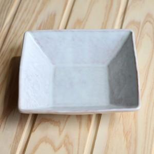 四角鉢(小)ミシマ