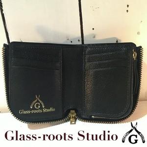 『GRSオリジナル レザーウォレット』L zip leather wallet