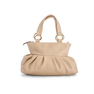 【かぼちゃバッグ / ホワイト】2WAYバッグ